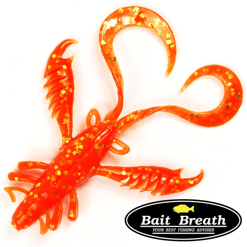 Мягкие приманки Bait Breath Virtual Craw 3,6'' #S839 (8шт в уп)