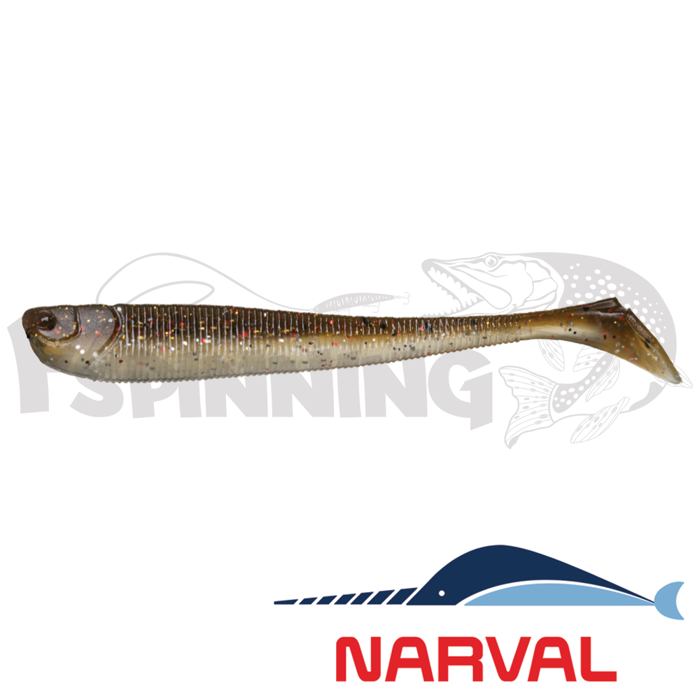 Slim Minnow 110mm Мягкие приманки Narval Slim Minnow 11sm #011 Brown Sugar (5 шт в уп)