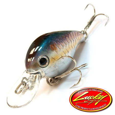 Воблер Lucky Craft Clutch MR 6,0gr #270 MS American Shad