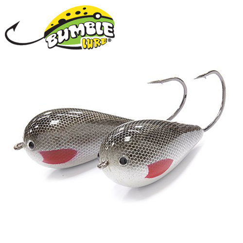 Глиссер Bumble Lure Killer Jerk KJ-15SG Silver Ghost 15гр