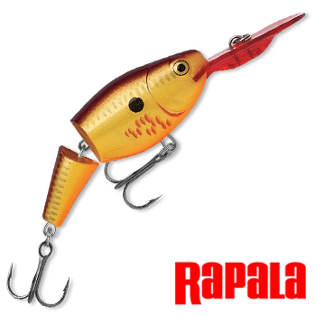 Jointed Shad Rap JSR05 Воблер RapaIa Jointed Shad Rap #JSR05-BCF
