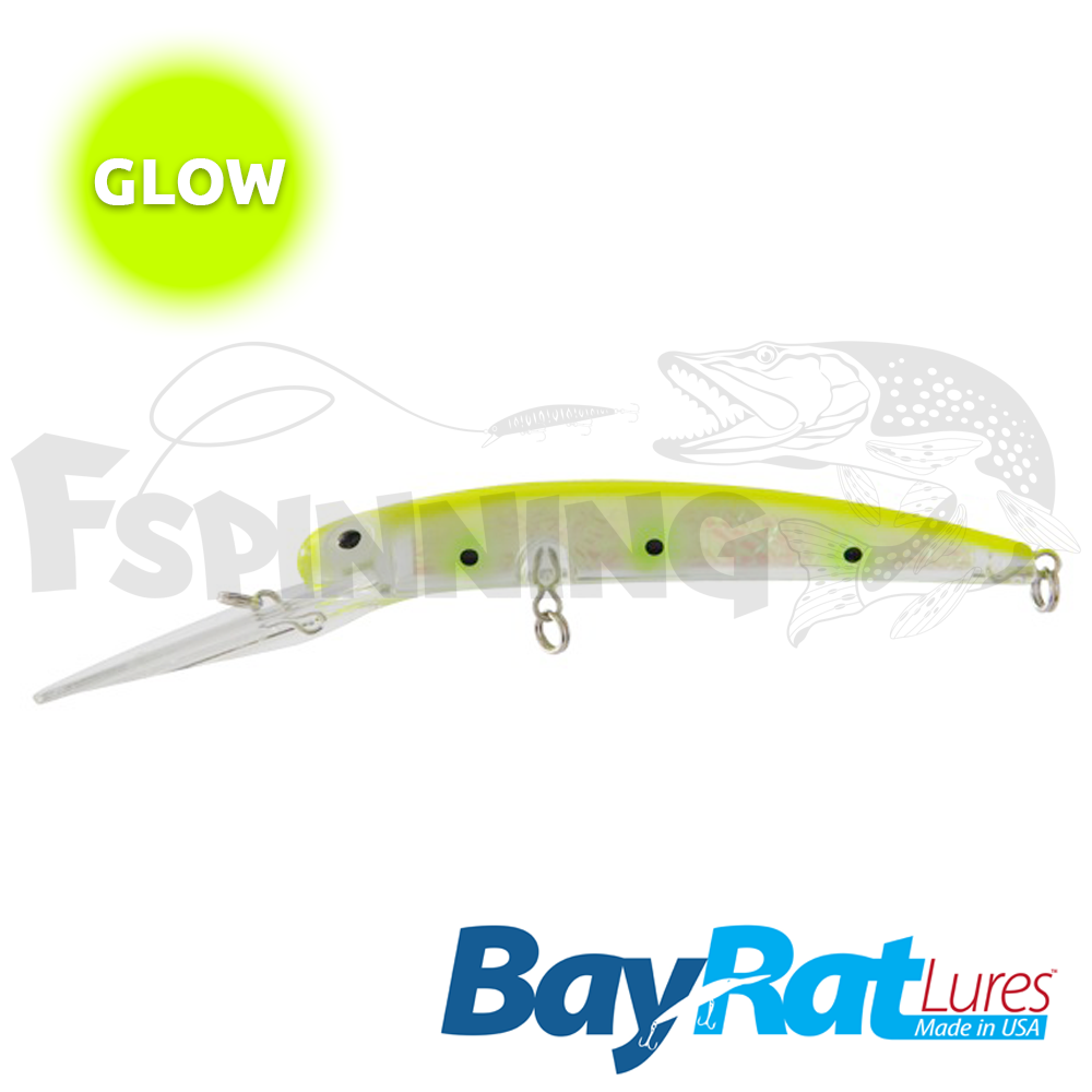 Long Extra Deep 100F Воблер Bay Rat Lures Long Extra Deep 100F 15.8gr #35 my secret