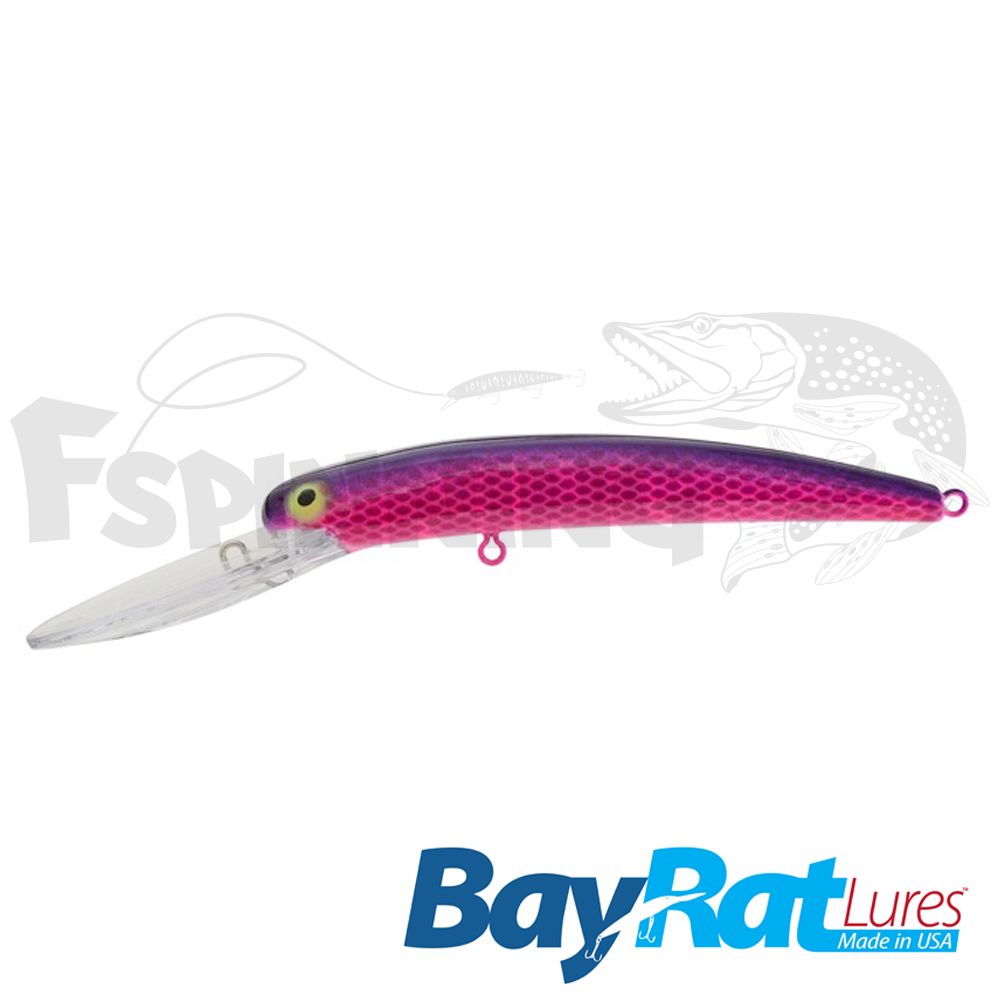 Long Extra Deep 100F Воблер Bay Rat Lures Long Extra Deep 100F 15.8gr #49 sweet lips