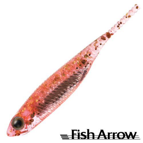 Fish Arrow Flash J 1'' SW #103 Orange/Silver (5 шт в уп)