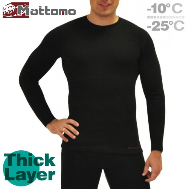 Thick Layer Фуфайка Mottomo Thick Layer M #черный
