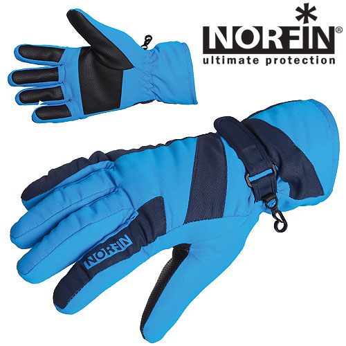 Перчатки Norfin Women Windstop Blue L