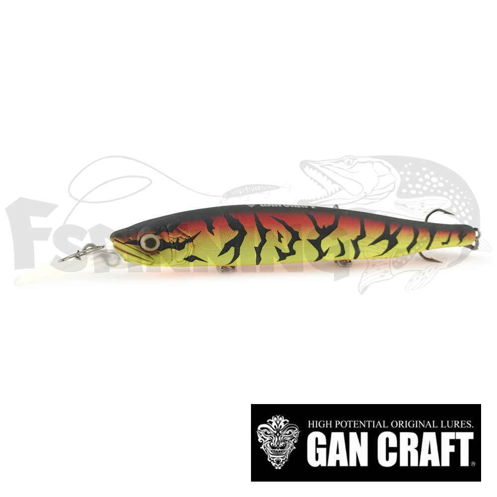 Ayuja Rest 108 Воблер Gan Craft Ayuja Rest 108 14gr #002 Hot Tiger