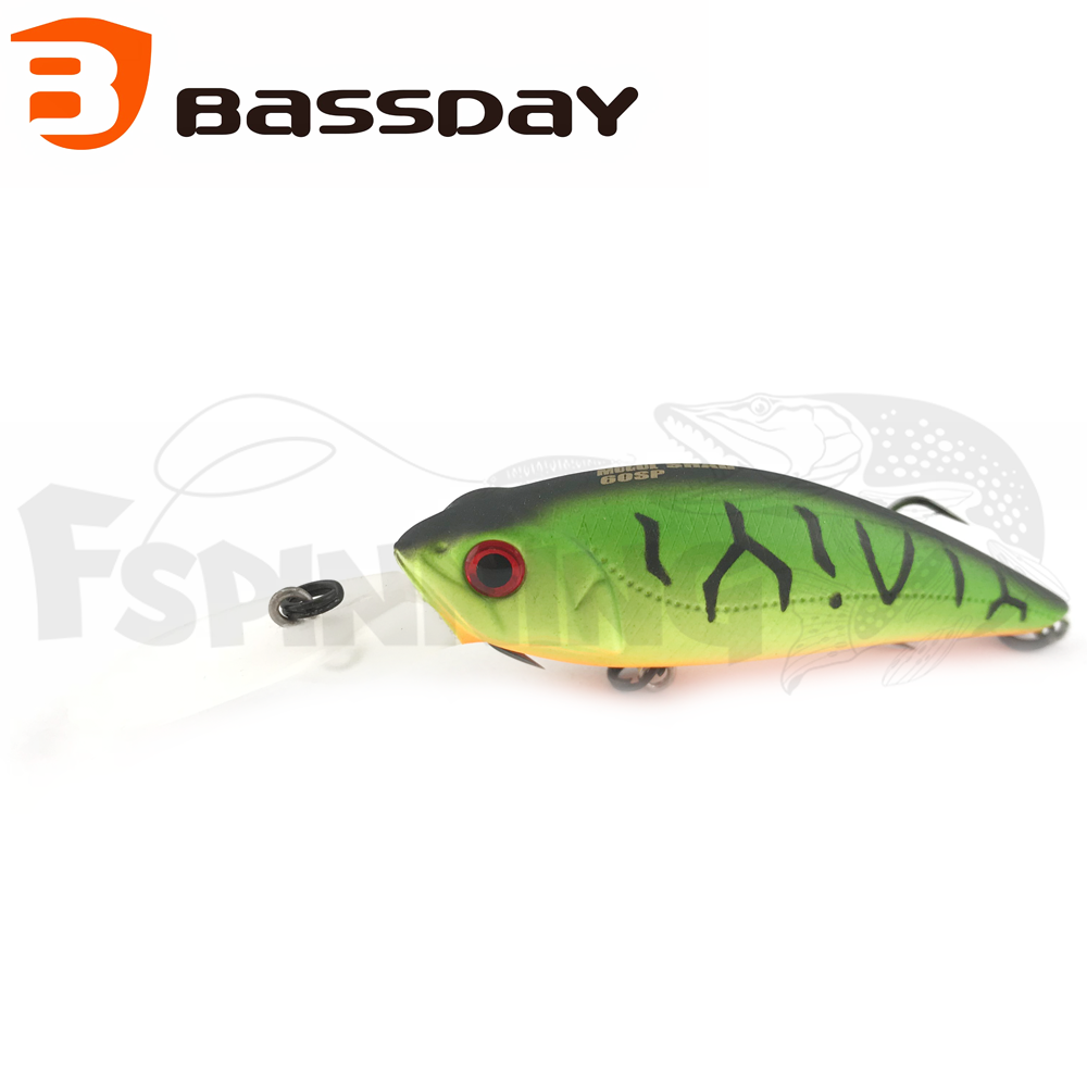 Mogul Shad 60SP Воблер Bassday Mogul Shad 60SP 7gr #P-212 Hot Tiger