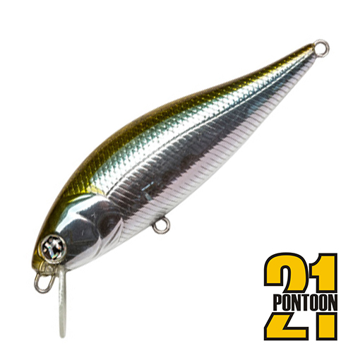 Bet-A-Shiner 68F-SR Воблер Pontoon 21 Bet-A-Shiner 68F-SR 6,6gr #012