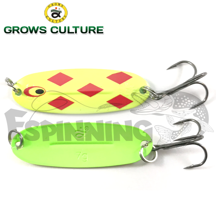 Блесна колебалка Grows Culture Jig Killer 7gr/57mm #001A
