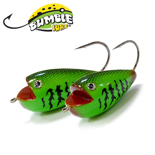 Глиссер Bumble Lure Frog F-9Gr Green 9гр