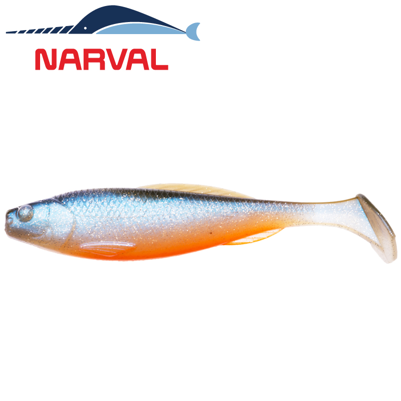 Troublemaker 70mm Мягкие приманки Narval Troublemaker 7sm #008 Smoky Fish (6 шт в уп)