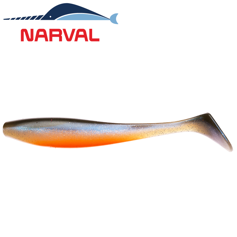 Choppy Tail 120mm Мягкие приманки Narval Choppy Tail 12sm #008 Smoky Fish (4 шт в уп)