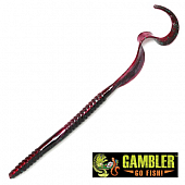 Ribbon Tail 10'' Мягкие приманки Gambler Ribbon Tail 10'' #Red Shad Green Glitter (10 шт в уп)