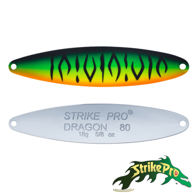 Блесна колебалка Strike Pro Dragon Treble 80M 18,0gr ST-07F#GC01S-CP