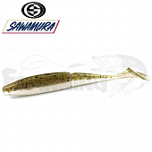 One'Up Shad Slim 4'' Мягкие приманки Sawamura One'up Shad Slim 4'' #058 (6шт в уп)
