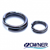 72803 Split Ring Fine Wire Заводные кольца Owner/C'ultiva 72803 Split Ring Fine Wire #01 (20 шт в уп)