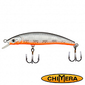 Fat Minnow 100FL Воблер Chimera Siver Fox Fat Minoow 100FL 13,0gr #005