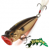 Pike Pop Mini 45 SH-002B Воблер Strike Pro Pike Pop Mini 45 4,0gr SH-002B#613T
