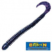 Ringworm 4'' Мягкие приманки B Fish & Tackle Ringworm 4'' #Electric Blue (12 шт в уп)