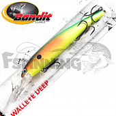Walleye Deep Воблер Bandit Walleye Deep 17,7gr/8,1m #2D99 Parrot