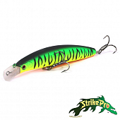 Top Water Minnow Long Casting 130 JL-177F Воблер Strike Pro Top Water Minnow Long Casting 130 21.4gr JL-177F #GC01S