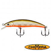 Fat Minnow 100FL Воблер Chimera Siver Fox Fat Minoow 100FL 13,0gr #003