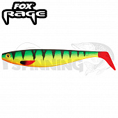 Rage Pro Shad Firetails II 5,5''/140mm Мягкие приманки Fox Rage Pro Shad Firetails II 5,5''/140mm #fire tiger (1шт в уп)