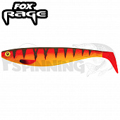 Rage Pro Shad Firetails II 5,5''/140mm Мягкие приманки Fox Rage Pro Shad Firetails II 5,5''/140mm #hot tiger (1шт в уп)