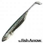 Flash J Shad 3'' SW Мягкие приманки Fish Arrow Flash J Shad 3'' SW #112 Inakko/Silver (5 шт в уп)