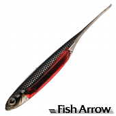 Flash J 3'' SW Мягкие приманки Fish Arrow Flash J 3'' SW #108 Black/Red (5 шт в уп)