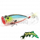Pike Pop Mini 45 SH-002B Воблер Strike Pro Pike Pop Mini 45 4gr SH-002B#A05