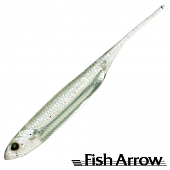 Flash J 3'' Мягкие приманки Fish Arrow Flash J 3'' #21 White/Silver (7 шт в уп)