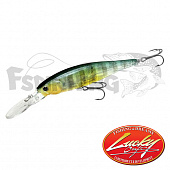 Pointer 100DD Воблер Lucky Craft Pointer 100DD 16.5gr #180 Flake Flake Golden Sun Fish