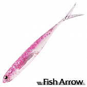 Flash J Split 4'' SW Мягкие приманки Fish Arrow Flash J Split 4'' SW #101 Pink/Silver (5 шт в уп)