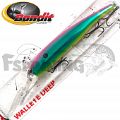 Walleye Deep Воблер Bandit Walleye Deep 17,7gr/8,1m #2D84 Mirror Gamma