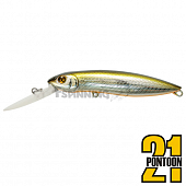 Moby Dick 100F-DR Воблер Pontoon 21 Moby Dick 100F-DR 18,5gr #R60