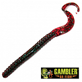 Ribbon Tail 7'' Мягкие приманки Gambler Ribbon Tail 7'' #Red Bug (12 шт в уп)