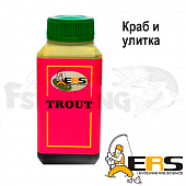 ERS Аттрактант форелевый ERS Trout T4 #краб и улитка (100ml)