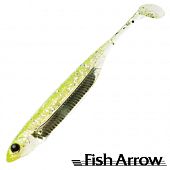 Flash J Shad 3'' SW Мягкие приманки Fish Arrow Flash J Shad 3'' SW #102 Chartreuse/Silver (5 шт в уп)