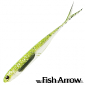 Flash J Split 4'' SW Мягкие приманки Fish Arrow Flash J Split 4'' SW #102 Chartreuse/Silver (5 шт в уп)