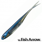 Flash J Split 3'' Мягкие приманки Fish Arrow Flash J Split 3'' #04 Problue/Silver (7 шт в уп)