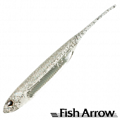 Flash J 3'' SW Мягкие приманки Fish Arrow Flash J 3'' SW #111 Clear Holo/Silver (5 шт в уп)
