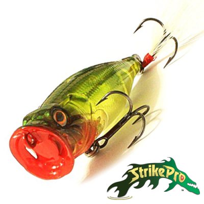 Pike Pop Mini 45 SH-002B Воблер Strike Pro Pike Pop Mini 45 4,0gr SH-002B#A136G