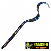 Ribbon Tail 10'' Мягкие приманки Gambler Ribbon Tail 10'' #Blueberry (10 шт в уп)