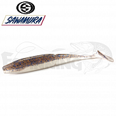 One'Up Shad Slim 4'' Мягкие приманки Sawamura One'up Shad Slim 4'' #069 (6шт в уп)