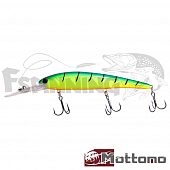 Воблер Mottomo Catcher 120F 20gr #Lime Tiger - купить в Москве