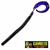 Ribbon Tail 10'' Мягкие приманки Gambler Ribbon Tail 10'' #X-Mas (10 шт в уп)