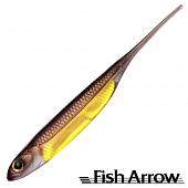 Flash J 3'' Мягкие приманки Fish Arrow Flash J 3'' #18 Wakasagi/Gold (7 шт в уп)