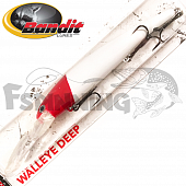 Walleye Deep Воблер Bandit Walleye Deep 17,7gr/8,1m #2D81 Red Head